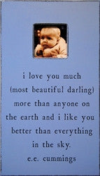 I love you so much picture frame - GDH | The decorators department Store
