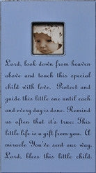 Lord look Down picture frame - GDH | The decorators department Store