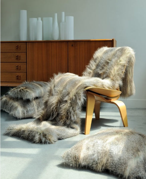 Faux Fur Bed Coverlet | Siberie - GDH | The decorators department Store - 1
