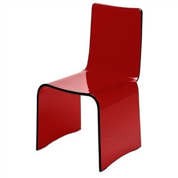 Red Kush Chair - GDH | The decorators department Store