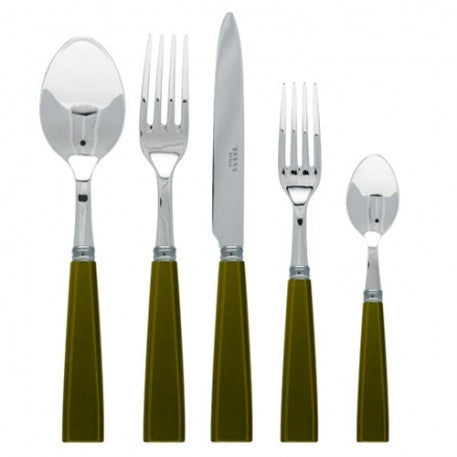 Sabre Natura 5 Piece Place Setting | Olive - CITY LIFE CATALOG