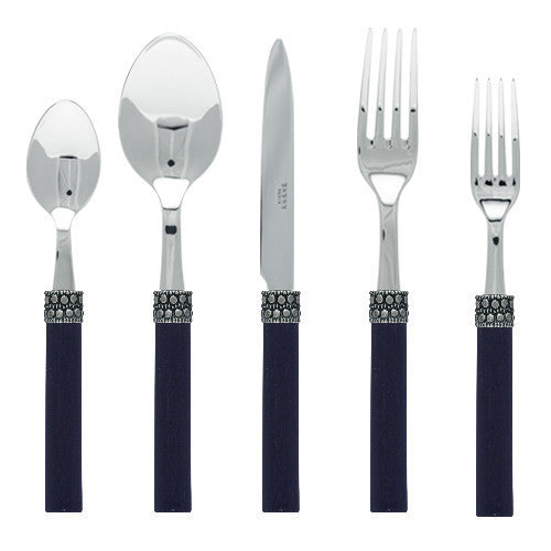 Sabre Kathmandu 5 Piece Place Setting| Black Wood - CITY LIFE CATALOG
