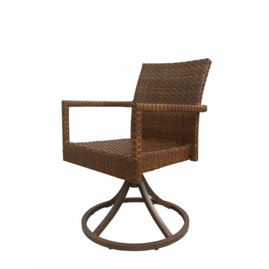 Panama Jack St Barths Swivel Rocking Arm Chair