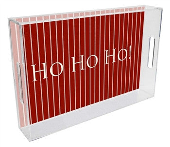 Christmas Lucite Tray - GDH | The decorators department Store