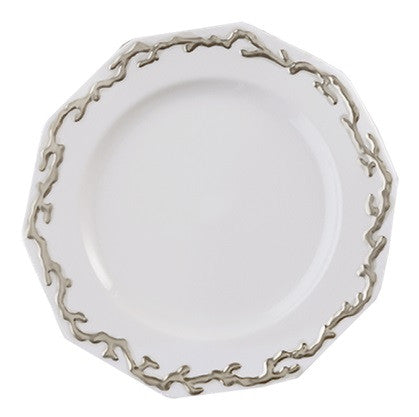 Mottahedeh Barriera Corallina Platinum Dinnerware Collection - GDH | The decorators department Store - 1