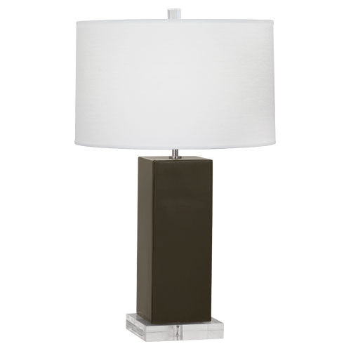 Harvey Table Lamp | Brown Tea
