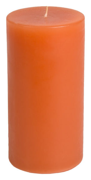 Classic Hurricane Pillar Candles (Pair) | Terracotta