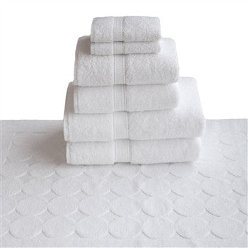 Circle design7 piece turkish towel set - GDH | The decorators department Store