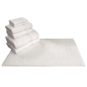 greek key 7piece turkish towel set - GDH | The decorators department Store