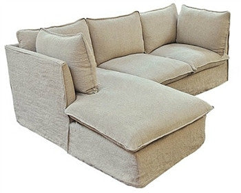 Taylor Scott Collection Milano Sectional Sofa - GDH | The decorators department Store