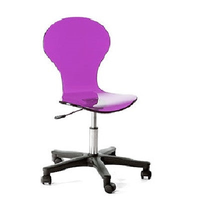 Spectrum West Question Marc Chair | Purple - GDH | The decorators department Store