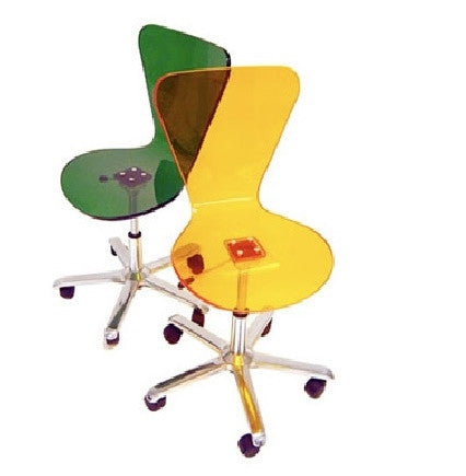Spectrum West Exclamation Chair | Yellow - GDH | The decorators department Store