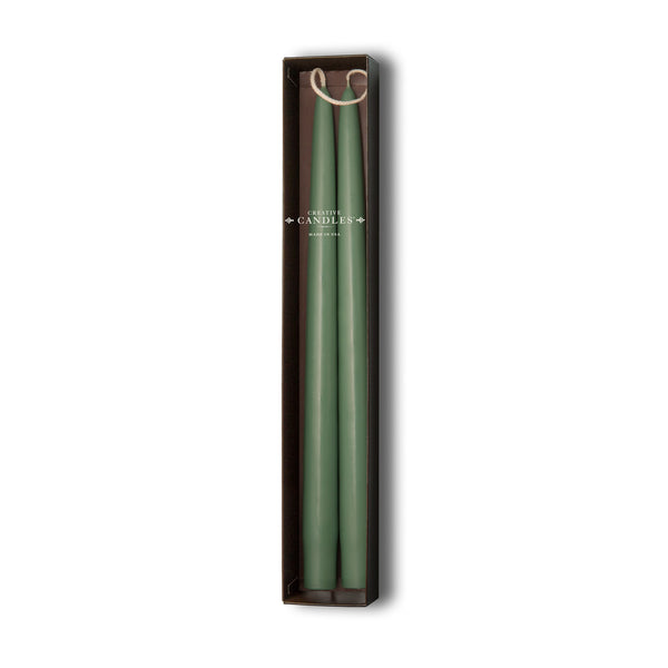 Beeswax Tapers - 4 sets of 2 by Creative Candles | Eucalyptus