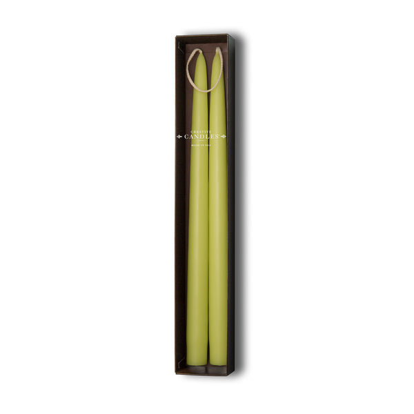 Beeswax Tapers - 4 sets of 2 by Creative Candles | Pistachio