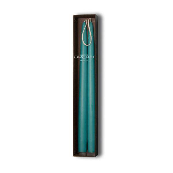 Beeswax Tapers - 4 sets of 2 by Creative Candles | Turquoise