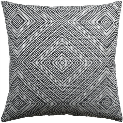 Tortola Indoor/Outdoor Pillow | Grey - GDH | The decorators department Store