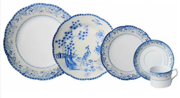 Mottahedeh Virginia Blue Dinnerware Collection - GDH | The decorators department Store - 1