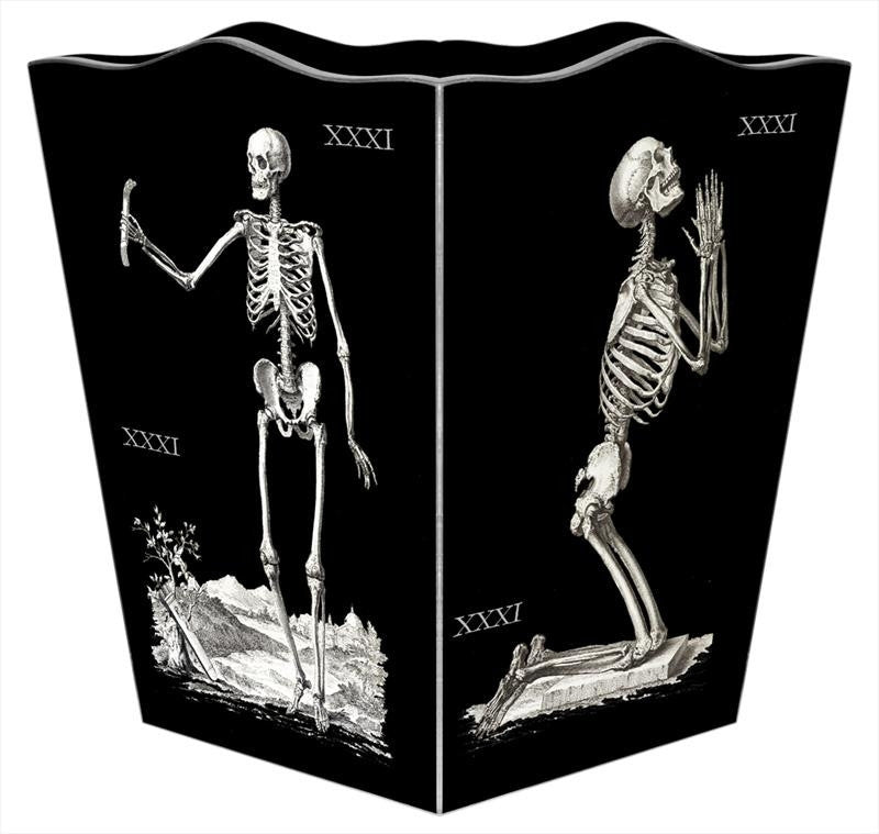 Skeleton Wastebasket - GDH | The decorators department Store