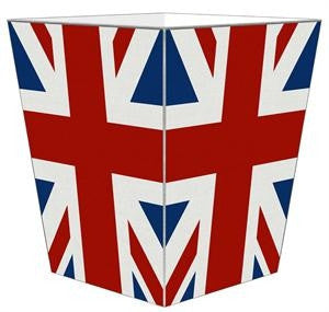 Union Jack Wastebasket - GDH | The decorators department Store