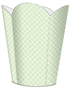 Chelsea Mint Wastebasket - GDH | The decorators department Store