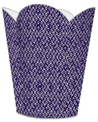 Berkely Purple Wastebasket - GDH | The decorators department Store