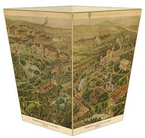 Nashville  Wastebasket - GDH | The decorators department Store