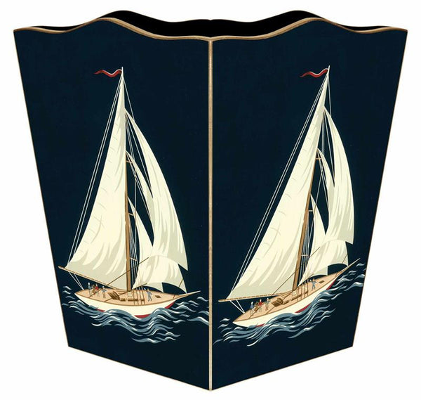 Sailboat Wastepaper Basket