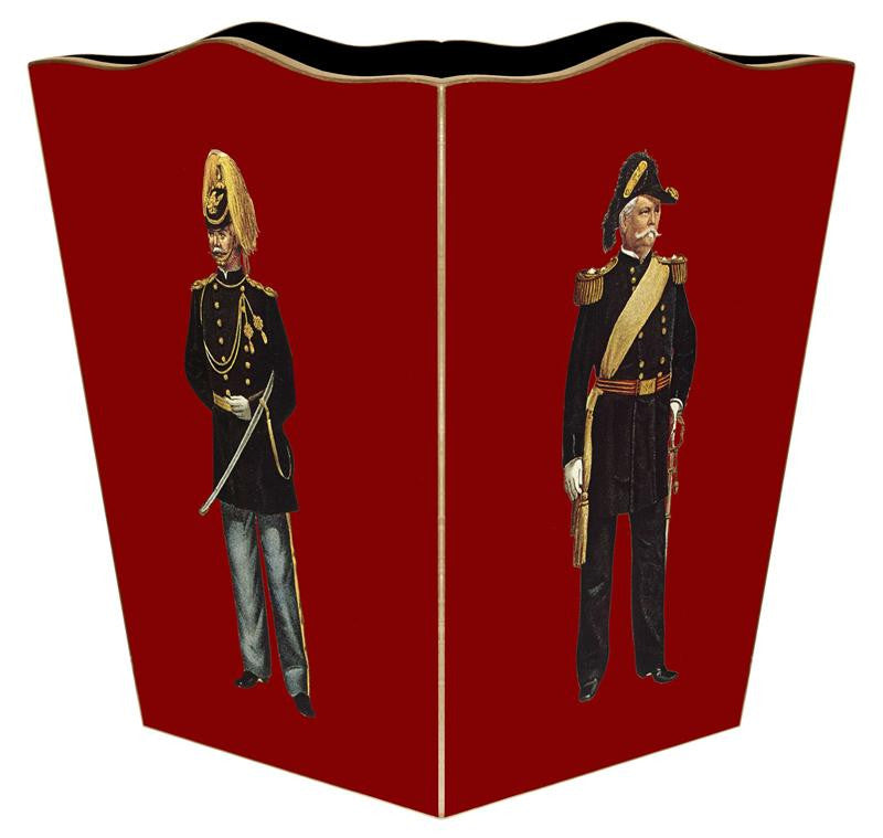 Soldier Wastebasket - GDH | The decorators department Store