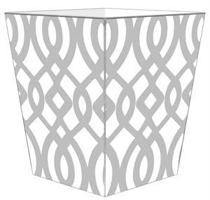 Grey Madison Wastebasket - GDH | The decorators department Store