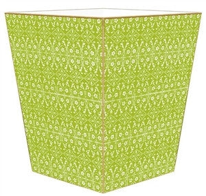 Spring Green Wastebasket - GDH | The decorators department Store