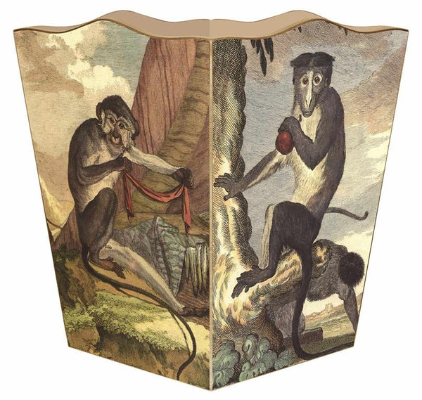 Monkey Wastebasket - GDH | The decorators department Store