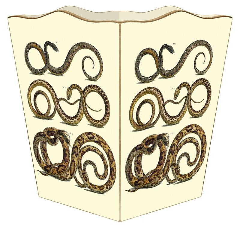 Snake Wastebasket - GDH | The decorators department Store