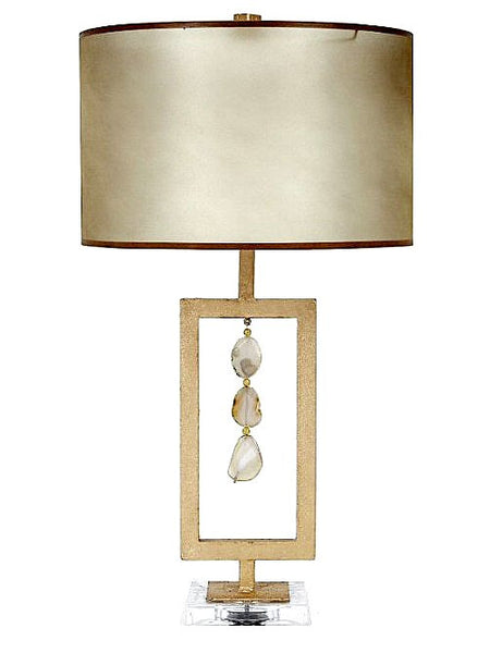 Agate Natural Table Lamp