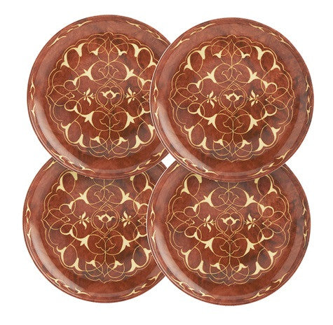 Mottahedeh Alhambra Canape Plates-Set of 4 - GDH | The decorators department Store - 1