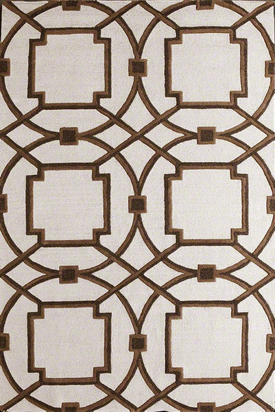Arabesque Rug Mocha by Global Views