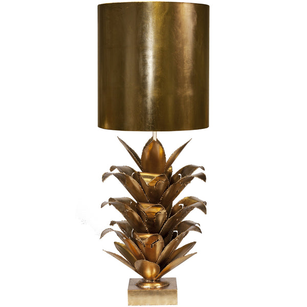 Arianna Table Lamp in Gold - GDH | The decorators department Store