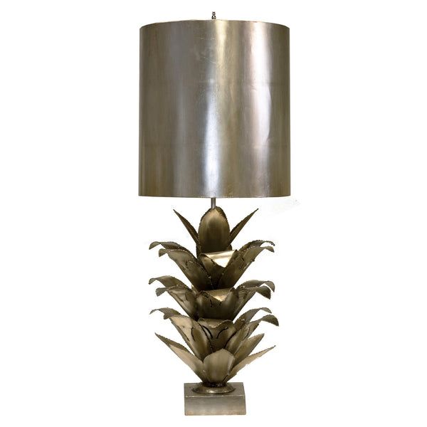 Arianna Table Lamp in Silver - GDH | The decorators department Store