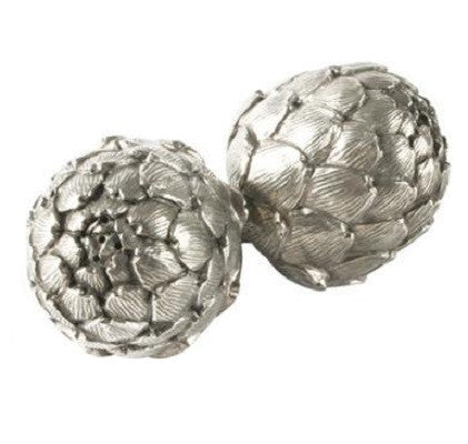 Pewter Artichoke Salt and Pepper Shaker