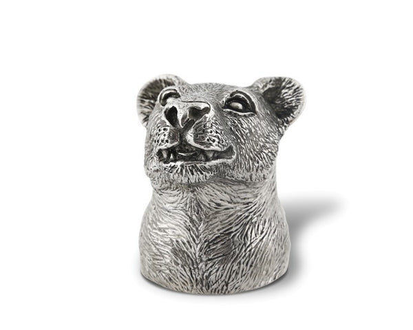 Pewter Lioness Bottle Opener