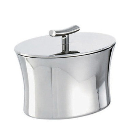 Bamboo Stainless Steel Sugar bowl w/cover, 6 3/4 ounce - GDH | The decorators department Store