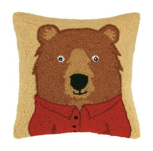 Bear with Polo Hook Pillow