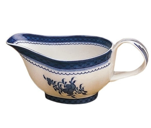 Mottahedeh Blue Canton Sauce Boat - GDH | The decorators department Store