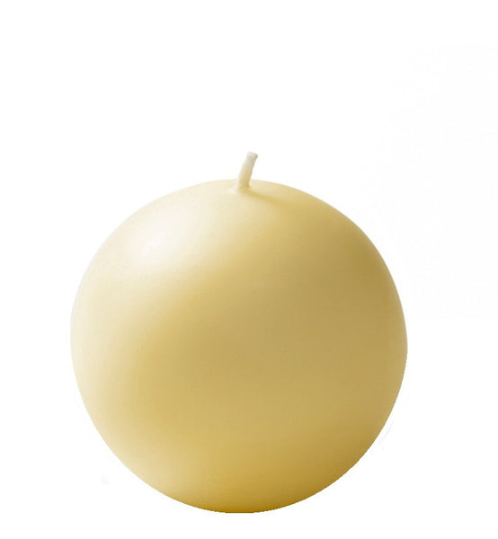 "Ball Candles XL 4""-Set of 2"