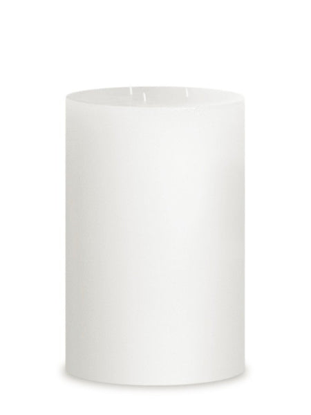 "3-Wick Hurricane Pillar Candle 6"" Diameter 
