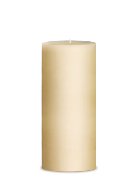 "Hurricane Pillar Candle 4"" x 9"" (pair) 