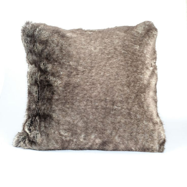 Faux Fur Pillow | Chataigne - GDH | The decorators department Store