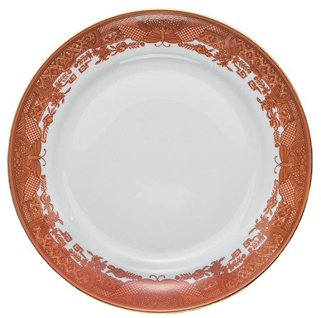 Mottahedeh Fitzhugh Cinnabar Dinnerware Collection - GDH | The decorators department Store - 1