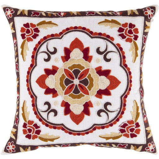 Copy of Botanical Pillow ll | Red - GDH | The decorators department Store