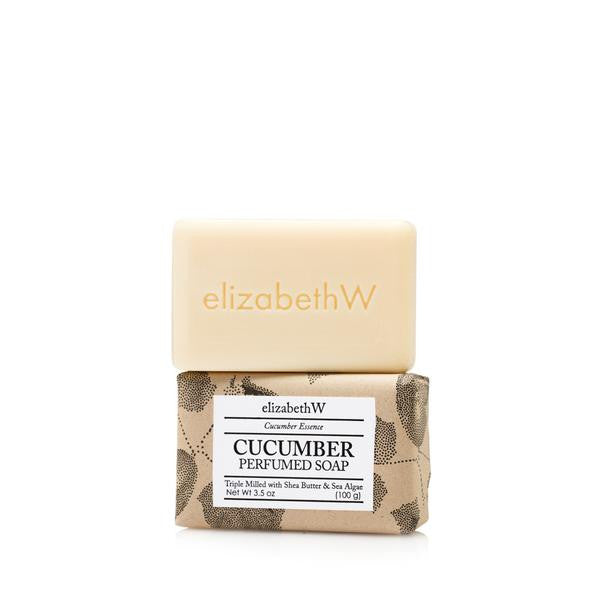 Cucumber Bar Soap S/3
