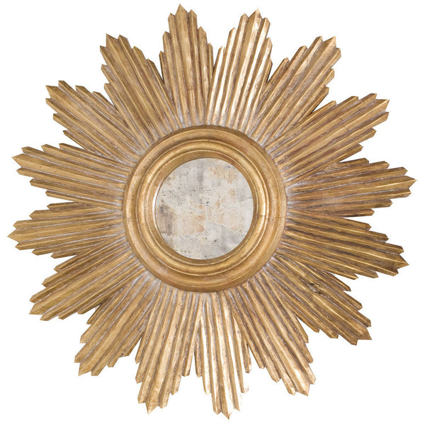 Ludwig Mirror-Gold - GDH | The decorators department Store